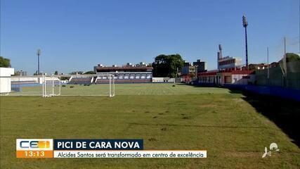 Centro de Excelência do Fortaleza: confira o andamento da obra no Pici