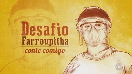 Em edição online, 'Desafio Farroupilha' homenageia profissionais da saúde