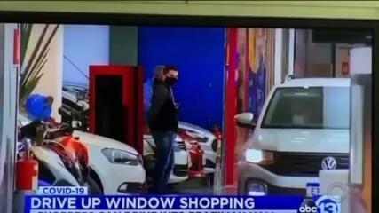 Drive-thru com carros dentro de shopping em Botucatu ganha repercussão internacional