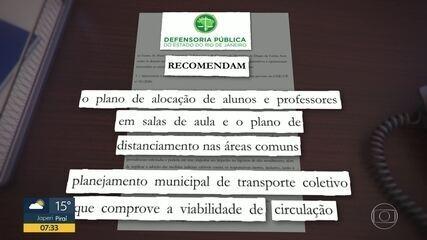 Prefeitura de Caxias libera volta às aulas nas escolas particulares