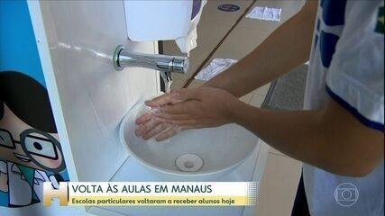 Cinemas e instituições privadas estão entre atividades que voltam a funcionar em Manaus