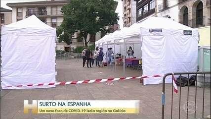 Novos focos de Covid-19 voltam a assustar Espanha
