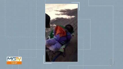 Família de criança precisa carregá-la em carrinho de mão até a UPA por falta de ambulância