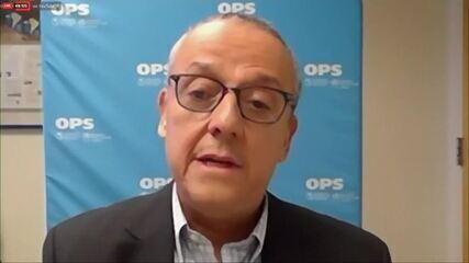 Representante da Opas diz que vírus não respeita raça, cor ou pessoas poderosas