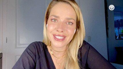 Monique Alfradique reage às cenas de Beatriz em 'Fina Estampa'