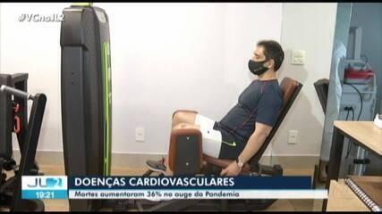 Mortes por doenças cardiovasculares aumentam 36% no Pará durante a pandemia