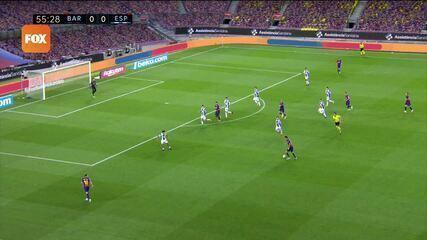 Os gols de Barcelona 1 x 0 Espanyol pelo Campeonato Espanhol