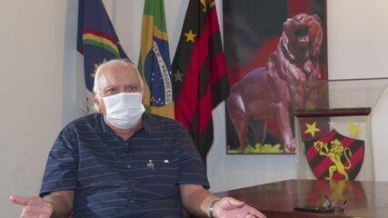 Milton Bivar fala sobre dívidas do Sport