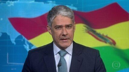 Presidente interina da Bolívia anuncia que testou positivo pra Covid-19