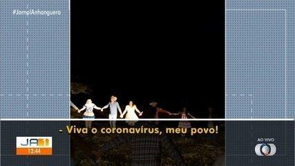 Vereador de Jataí dança quadrilha e 'celebra' o coronavírus