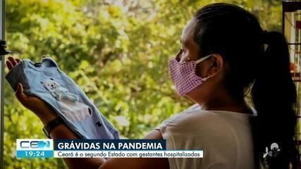 Ceará tem segundo maior número de grávidas internadas com covid-19