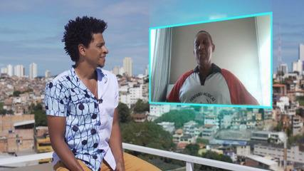 Aldri bate-papo com o maestro da Fanfarra Luiz Teixeira