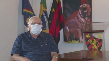 Milton Bivar fala sobre montagem de elenco do Sport para Série A do Brasileiro