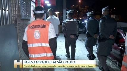 11 estabelecimentos foram lacrados na cidade de São Paulo
