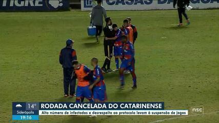 Rodada do Campeonato Catarinense é cancelada por causa da Covid-19