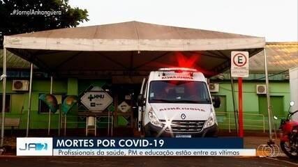 Servidores da saúde morrem vítimas da Covid-19, em Goiás