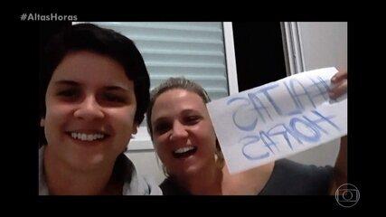 #altashoras: pessoas em qurentena enviam vídeos
