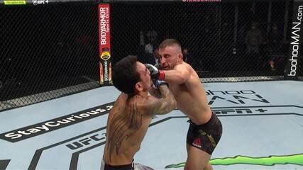 Melhores momentos de Alexander Volkanovski x Max Holloway no UFC 251