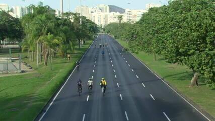 Rio volta a fechar vias para lazer neste domingo