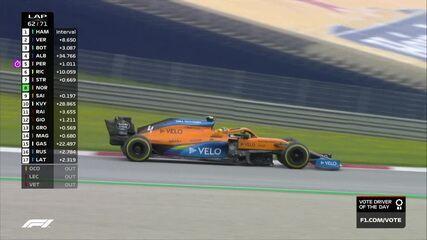 Norris ultrapassa Sainz no GP da Estíria