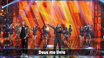Márcia Fellipe e Jerry Smith cantam 'Quem Me Dera'