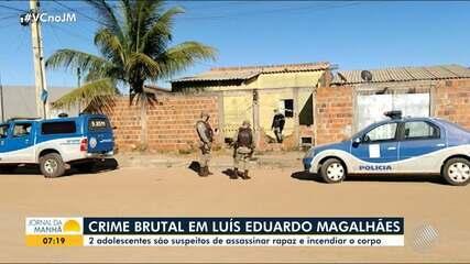 Adolescentes são suspeitos de cometer crime brutal em Luís Eduardo Magalhães, no oeste