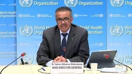 Diretor da OMS diz que muitos países estão indo na direção errada no combate à pandemia