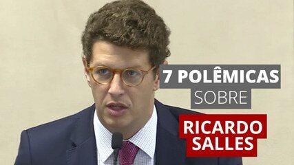 7 polêmicas sobre o ministro Ricardo Salles