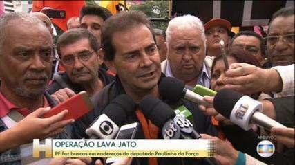 PF cumpre mandado contra Paulinho da Força em fase da Lava Jato