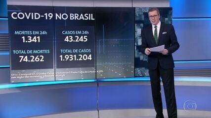 Brasil tem a semana mais letal desde o início da pandemia da Covid-19