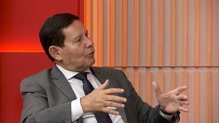 Vice diz não temer as ações que pedem a cassação da chapa Bolsonaro-Mourão