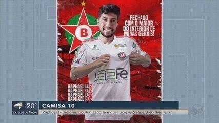 Raphael Luz retorna ao Boa Esporte e que acesso à Série B