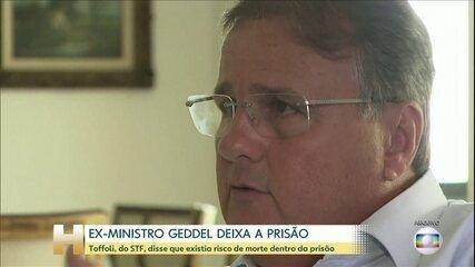 STF concede prisão domiciliar ao ex-ministro Geddel Vieira Lima