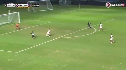Os gols de Vasco 5 x 0 Porto Velho, em jogo-treino