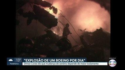 Dimas Covas diz que mudança de cenário da pandemia depende de maior isolamento