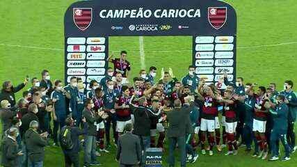Melhores momentos: Flamengo 1 x 0 Fluminense pela final do Campeonato Carioca 2020