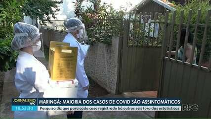 Estudo aponta outros seis casos para cada paciente com a Covid-19 em Maringá