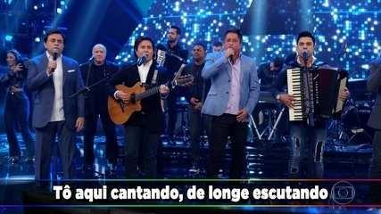 Leonardo, Chitãozinho & Xororó/ Zezé Di Camargo & Luciano cantam no Domingão