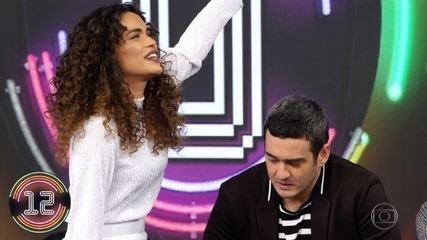 Marcos Veras e Giovana Cordeiro acertam música no Ding Dong