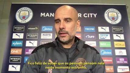 Guardiola elogia Domènec Torrent, ex-auxiliar monitorado pelo Flamengo