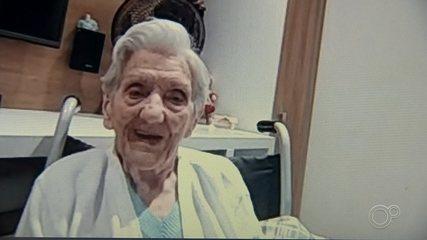 Idosa de 101 anos fica curada de Covid-19