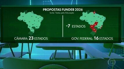 Especialistas apontam efeitos negativos de mudanças propostas pelo governo no Fundeb