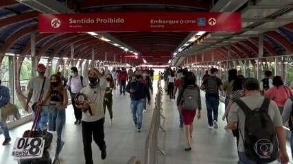 Evitar o contágio no transporte público é um dos desafios na pandemia