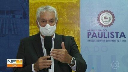 Novo prefeito de Paulista, Jorge Carreiro exonera servidores após tomar posse