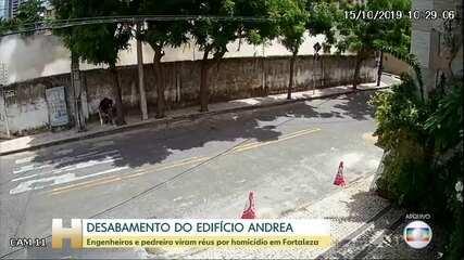 Dois engenheiros e um pedreiro viram réus por homicídio no caso do Edifício Andrea