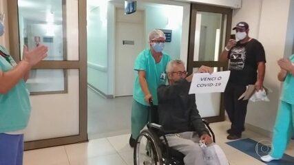 A história de três brasileiros que superaram a covid após longas internações.