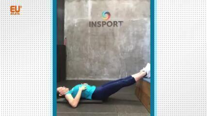 Campeã mundial, Fabiana Murer dá uma aula de ginástica perfeita para corredores