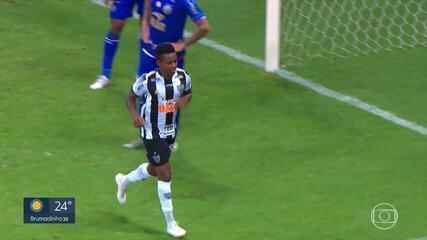 Cazares, do Atlético-MG, é parado em blitz e tem carteira de habilitação apreendida
