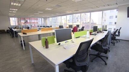 Empresas mantêm home office depois da reabertura dos negócios