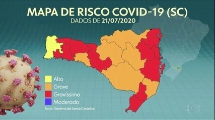 COVID-19 avança em Santa Catarina